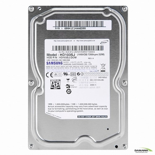 삼성전자 1TB Spinpoint F3 HD103SJ (SATA2/7200/32M)_이미지