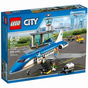 레고  시티 에어포트 여객 터미널 (60104) (해외구매)