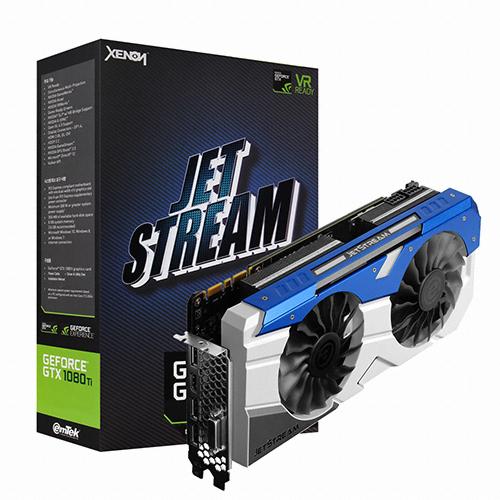 이엠텍 XENON 지포스 GTX1080 Ti JETSTREAM D5X 11GB