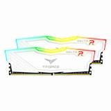TeamGroup T-Force DDR4 16G PC4-21300 CL15 Delta RGB 화이트 (8Gx2)_이미지