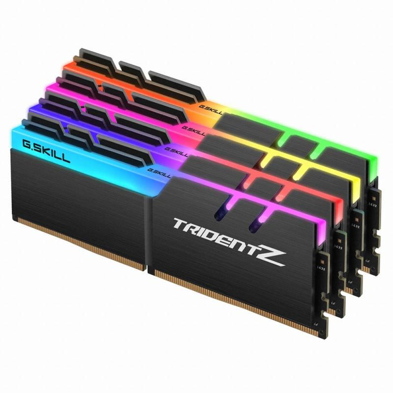 G.SKILL DDR4 32G PC4-25600 CL14 TRIDENT Z RGB (8Gx4)