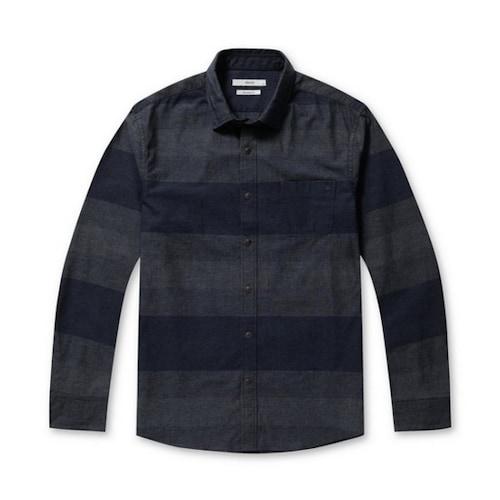 코오롱인더스트리 스파소 블록 조직 코튼 셔츠 SPSDW17791NYX_이미지