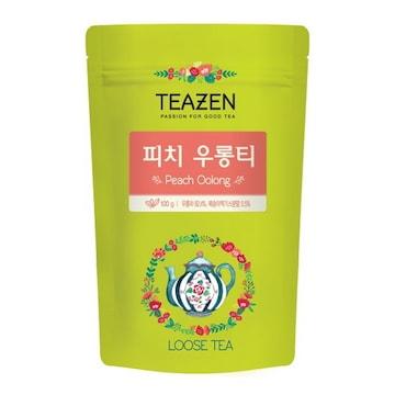 티젠 피치 우롱티 100g(1개)