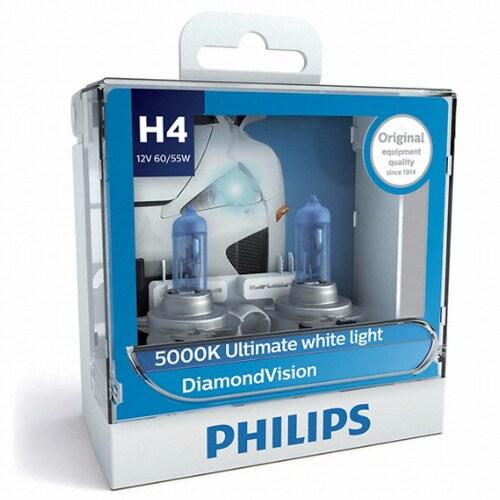 필립스 다이아몬드 비전 (H4, 60/55W)_이미지