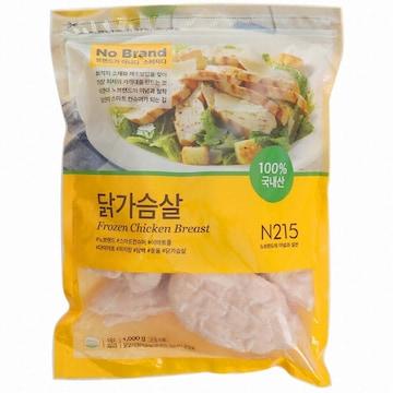 이마트 노브랜드 닭가슴살 1kg (1개)