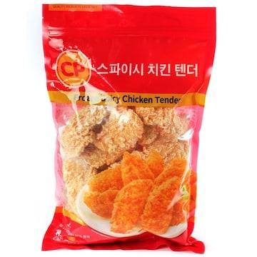 CP 스파이시 치킨 텐더 1kg(1개)