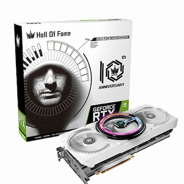 갤럭시 GALAX 지포스 RTX 2070 SUPER Hall Of Fame D6 8GB 10th Anniversary Edition