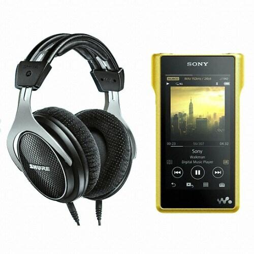 SONY Signature Walkman NW-WM1Z 256GB + 슈어 SRH1540 헤드폰 (정품)_이미지