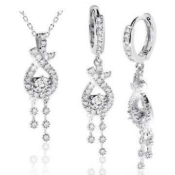 [2종] 에버링 14k 천연 다이아몬드 1.23캐럿 아그네스 2종 세트