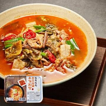 국제식품 한우사골 우거지탕 500g (1개)_이미지