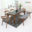 티아모 천연화산석 식탁세트 1800
