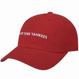 MLB  레포츠 슬라이더 커브조절캡 볼캡 뉴욕 양키스 32CPRG811-50R_이미지
