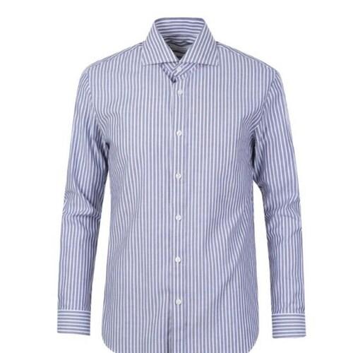 신성통상 지오지아 와이드카라 스트라이프 드레스 셔츠 ADY1WD1906NV_이미지