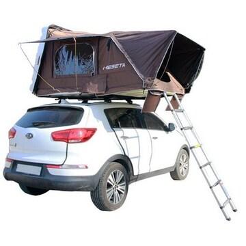 캠핑나루 메세타 아지트 1600 확장형 루프탑 텐트(2인용)