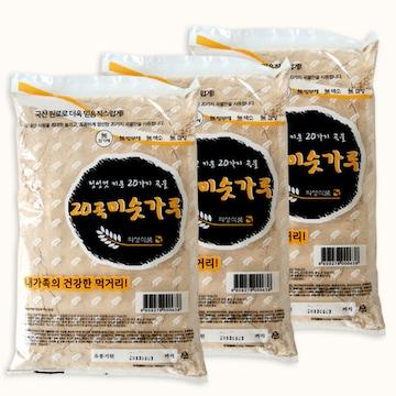 의성식품  20곡 미숫가루 1kg (3개)