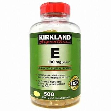 커클랜드 비타민E 400IU 500캡슐 (1개)