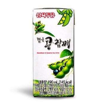 삼육식품 삼육두유 검은콩 참깨 190ml
