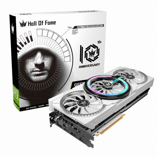 갤럭시 GALAX 지포스 RTX 2080 Ti Hall Of Fame D6 11GB 10th Anniversary Edition