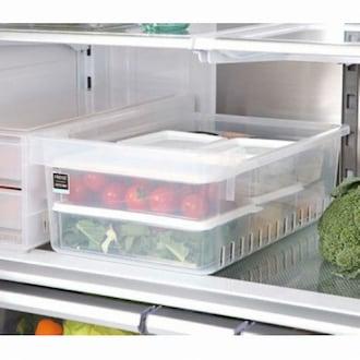 창신리빙 냉장고 오픈 저안트레이 3호 (1개)_이미지