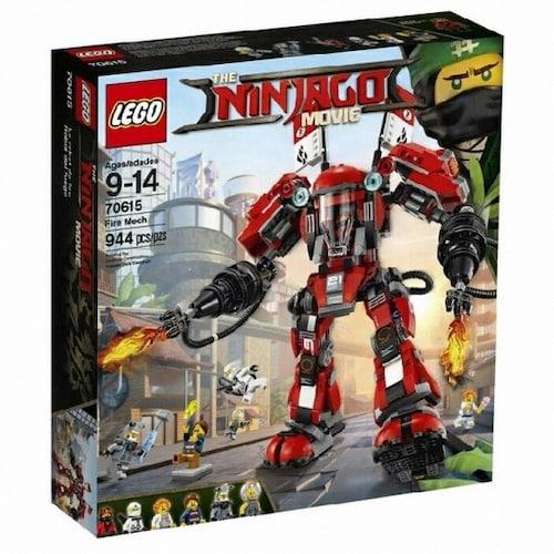 레고  닌자고 무비 카이의 파이어 로봇 (70615) (해외구매)_이미지