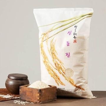 청솔R&F 맛을더한미 신동진 5분도 10kg (20년 햅쌀) (1개)_이미지