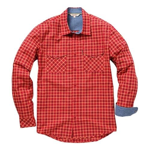 빈폴아웃도어  체크 셔츠 (BO2A642F36)_이미지