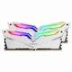 TeamGroup T-Force DDR4 32G PC4-25600 CL16 Night Hawk RGB 화이트 (16Gx2) 바이픽스_이미지