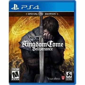 Warhorse Studios 킹덤 컴: 딜리버런스 (Kingdom Come: Deliverance) PS4 (병행수입,북미판)