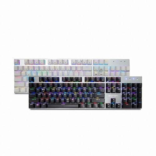 archon  AK60 RGB QuickFire (화이트, 진회축)_이미지