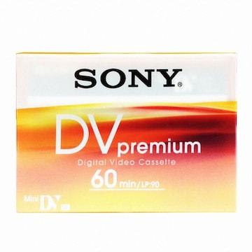 SONY MiniDV 6mm DVM60R3 60분 DV테이프 (3개)_이미지