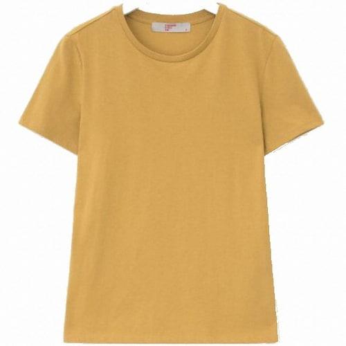 삼성물산 에잇세컨즈 머스터드 베이직 데일리 티셔츠 358742CY1G_이미지