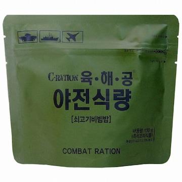 참미푸드 육해공 야전식량 쇠고기비빔밥 100g