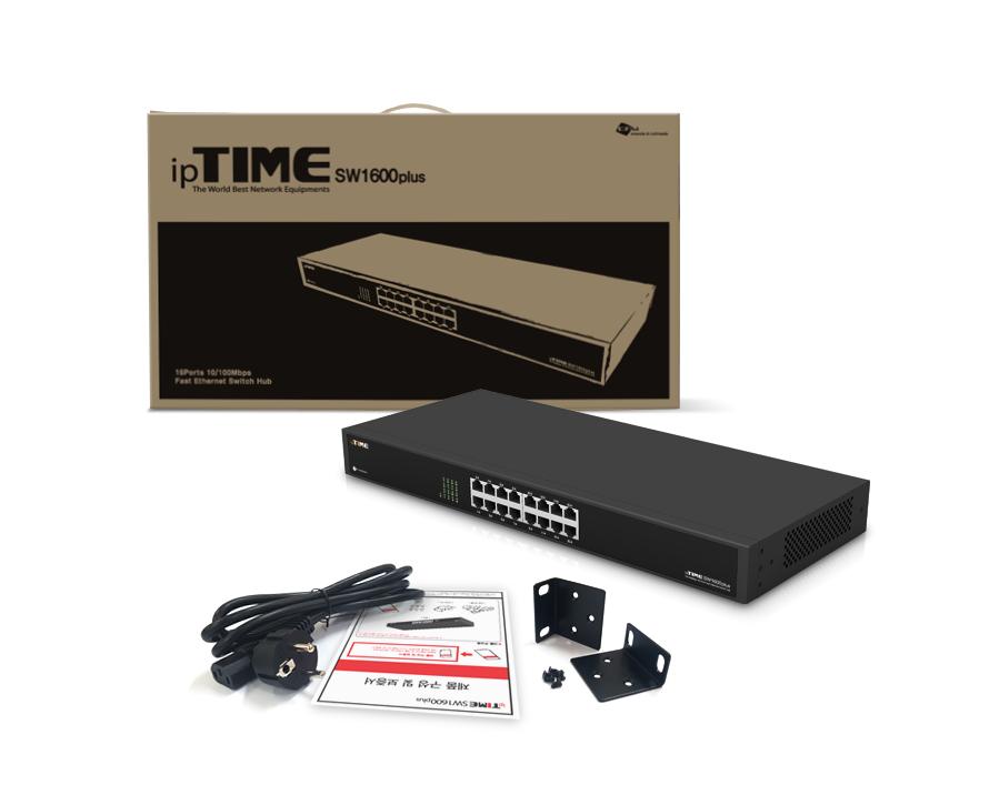 EFM ipTIME SW1600plus 스위치허브