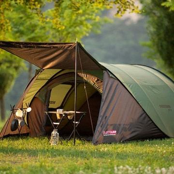 아이두젠 패스트캠프 원터치 텐트 오페라 스위트 와이드 착탈익스텐션 플라이프로(4~5인용)