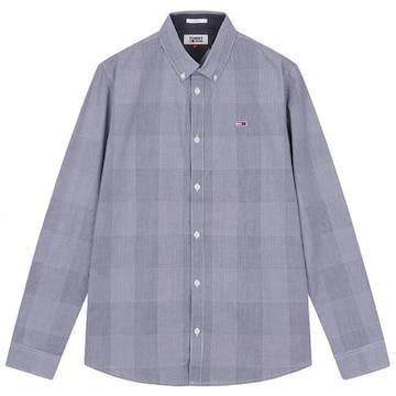 타미진 코튼 글랜체크 긴소매 셔츠 T32A6WSH043MT2 C87_이미지