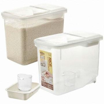 락앤락 쌀통 12kg + 트레이 + 계량컵
