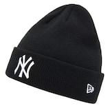 뉴에라캡코리아 뉴에라 커프 비니 MLB 뉴욕 양키스 블랙 11397009_이미지