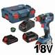 보쉬 GDX 18V-200 C Professional (4.0Ah+6.0Ah, 배터리 3개)_이미지