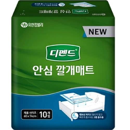 유한킴벌리 디펜드 안심 깔개매트 10개 *6팩(60개)_이미지
