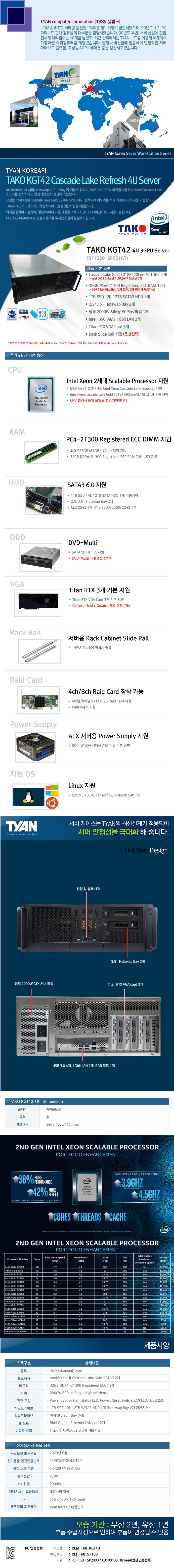 TYAN TAKO-KGT42-(B71S20-20R21GT) 3GPU (384GB, SSD 1TB + 12TB)