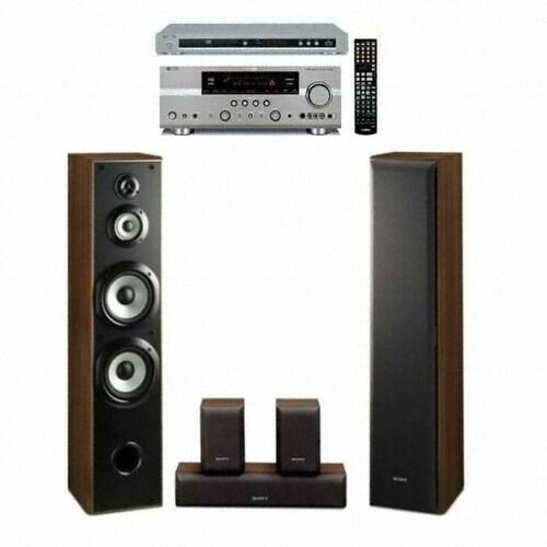 SONY SS-FCR6000 + DVD-S661 + 야마하 AV리시버 (RX-V663)_이미지