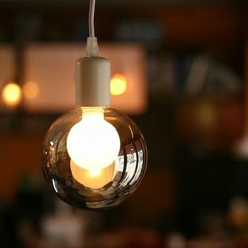 룩스램 LED G125 버블 원형 에디슨전구 전구색 2W_이미지