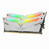 TeamGroup T-Force DDR4 16G PC4-28800 CL18 Night Hawk RGB 화이트 (8Gx2) 서린