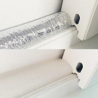 방한용 파이프 보온재 창문 틈막이 2m (1개)_이미지