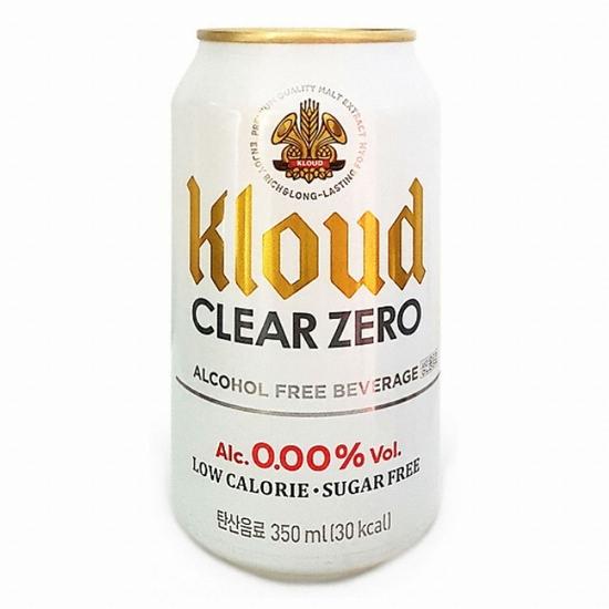 롯데칠성음료 클라우드 클리어 제로 350ml(24개)