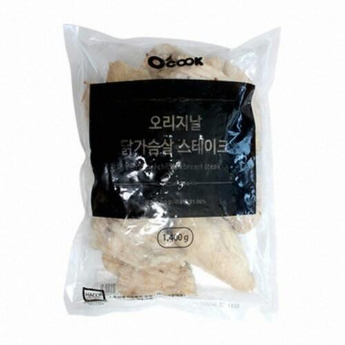 오쿡  오리지날 닭가슴살 스테이크 1.4kg (1개)_이미지