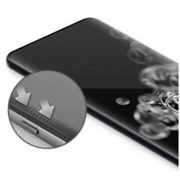 아이폰12/12 프로 풀커버 자가복원 우레탄 액정보호필름 (액정 2매)_이미지