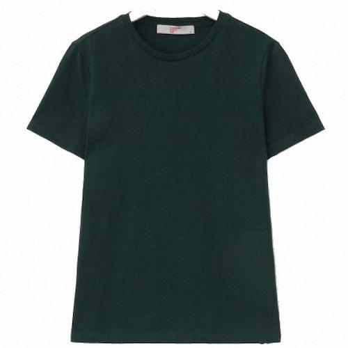 삼성물산 에잇세컨즈 그린 베이직 데일리 티셔츠 358742CY1M_이미지