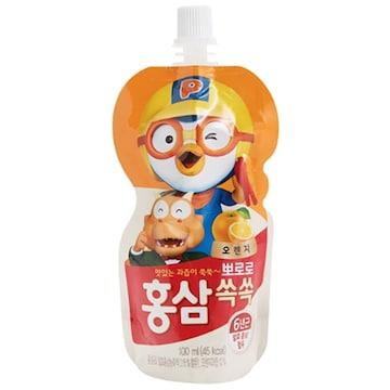 팔도 뽀로로 홍삼쏙쏙 오렌지 100ml 10포(1개)