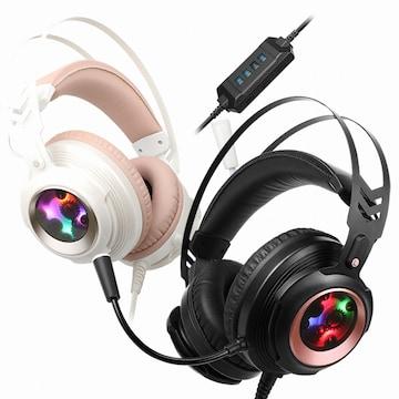 COX CH60 사운드플러스 리얼 7.1채널 진동 RGB LED 게이밍 헤드셋